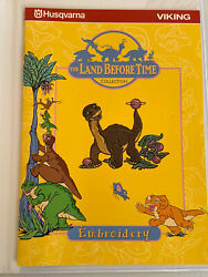 Husqvarna Viking Machine Embroidery Designs Disk Land Before Time Collection