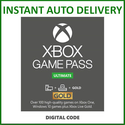 Xbox Live Gold amp; Game Pass Ultimate Membership 1 2 3 6 12 Month amp; 7 14 Days