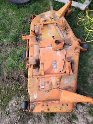 Kubota 60 In Belly Mower Off L275 Tractor
