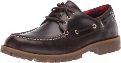 Sperry Top-sider Men Boat Shoe A/o Authentic Original Lug 3 Eye Amaretto Leather