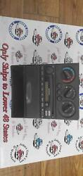 Heater A/c Control Subaru Legacy 00-04 Heater Controls With Radio Unit And Cubby