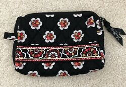 """Vera Bradley Small Cosmetic Bag Pirouette NEW WITH TAG 4.5"""" X 6.5"""" $29.99"""