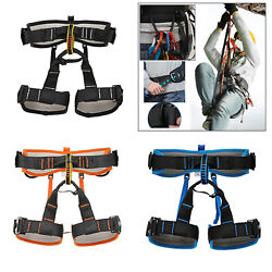 Deluxe Half Body Harness Climbing Sitting Belt Caving Expedition Harness