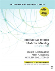 Jeanne H. Ballantinekeith ...-our Social World - Internati Uk Import Book New