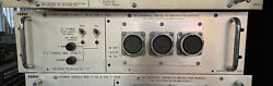 Cadac F Type Analog Pro Audio Power Supply Front Panel 7985 Untested Sold As Is