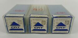 Lot Of 129 Carbide Cutting Related Technology Crt Fishtail Tool Tip