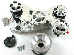 Ls Serpentine Front Drive Kit W/ Power Steering, Alternator And Air Compressor