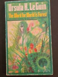 The Word For World Is Forest Le Guin, Ursula K. Mass Market Paperback 1976