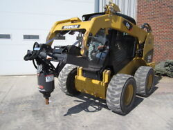 Mcmillen Skid Steer Loader X1475 Auger Drive Unit Attachment - 10-25 Gpm