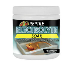 Zoo Med Reptile Electrolyte Soak Supplement Free Shipping