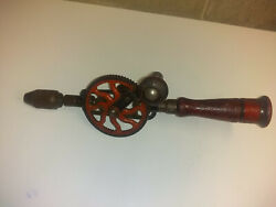 Vintage Craftsman 1071 Egg Beater Style Hand Drill Early Design
