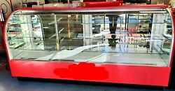 Chocolate Truffle Case 8 Ft.curved Glass Refrigerated Climate Controlled Nice