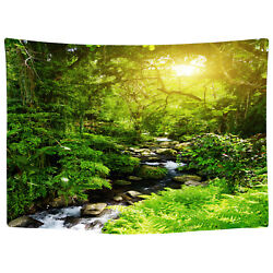 USA Art Forest Cree Style Tapestry Wall Hangings Tapestry Home Decor Beach Towel
