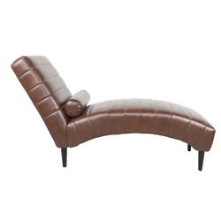 Chaise Lounge Leather Chaise Daybed Recliner Lounger Chaise Sofa Bed Furniture