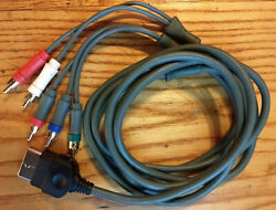 Original Xbox Component Av Cable - High Definition Hd - Modded Mod