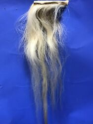 Natural Horse Hair Tail For Rocking Horse Mask Costume Arts Crafts Toy Hobby P68