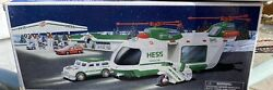 The Hess Toy Truck Helicopter Motorcycle Cruiser Limited Release 2001 New In Box