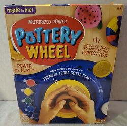 Made By Me-motorized Power Pottery Wheel+ Premium Terracotta Clay+tools-new