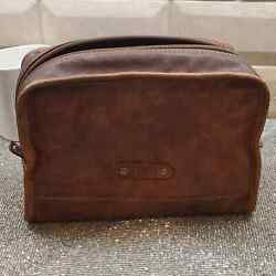 FOSSIL Leather Toiletry Bag $29.00