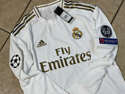Real Madrid Benzema Ramos Era Cl Player Issue Climachill Shirt Football Jersey
