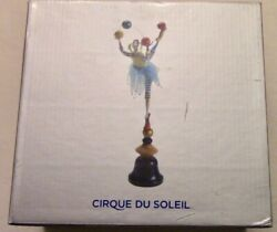 Cirque Du Soleil - Whimsical Doll Juggling Clown Performer Pose Able 19 Figure