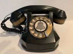 Vintage Rotary Dial Desk Or Hotel Telephone-dial Tone