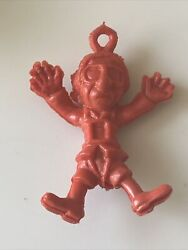 Vintage 1970s Brabo Parafools Poopatrooper Parachute Toy Professor Nutty Mad