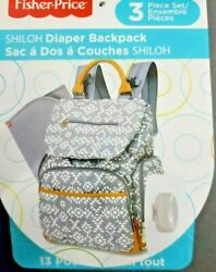 Fisher Price Shiloh Southwest Backpack Diaper Bag $10.00