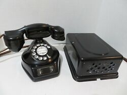 Antique Telephone Automatic Electric Monophone 2 Line Phone Subset