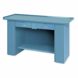 Drop Front Top Bench 2 Drawers 60w X 22d Putty