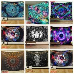 USA Mandala Tapestry Hippie Wall Hanging Psychedlic Bedspread Blankets Home Deco