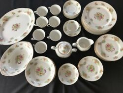 Aichi China Made In Occupied Japanandnbsp Stamped 52 Pc. Set Serving For 8andnbsp