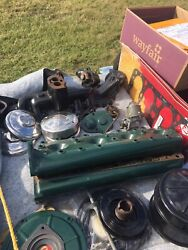 Vintage 1935 Ford 1 1/2 Ton Engine And Truck Parts