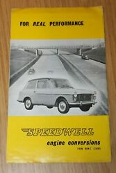 Speedwell Engine Conversions For Bmc Austin Seven And Mini And Bmc Cars 1959