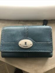 Fossil Leather Wallet $15.00