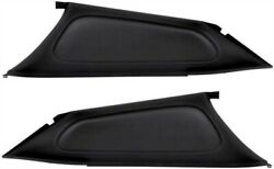 Oer 748617 Interior Rear Sail Panels 1971-1972 Dodge Charger 2-door Left And Rig