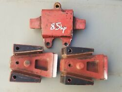 Johnson Evinrude Outboard 85 90 115hp Motor Mounts Rubber Set Oem 1980and039s