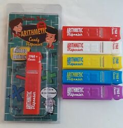 Pez Custom Retro Arithmetic Dispenser Set Of 5 Le Of 100 By Fx Mike In Stock