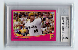 Rare 2013 Topps Update Gerrit Cole Us150 Pink 14/50 Bgs 9 Mint 0012259652
