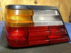 86-93 Mercedes 300ce 260e W124 Driver Side Left Tail Light Complete Assembly