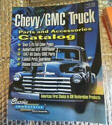 2000 Classic Industries Chevy / Gmc Truck Parts And Accessories Catalog 570 Pages