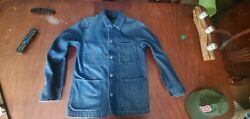 Offer Up Performance Denim Chore Jacket Small
