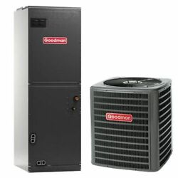 Goodman 2 Ton 15 Seer Heat Pump Bundle Gsz140241 Avptc25b14