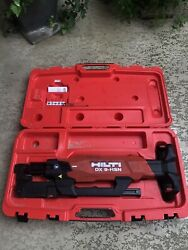 Hilti Dx 9-hsn Digital High-productivity Nailer With Case Powder Actuated