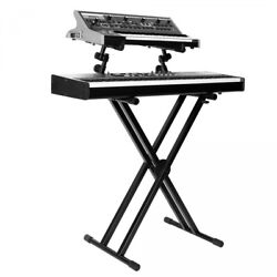 Onstage Ks7292 Double-x Ergo-lok Keyboard Stand With Second Tier