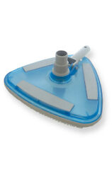 Jed Pool 30-174 Deluxe Weighted Clear Triangular Vacuum Clamshell