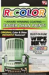 Super Rust-oleum Rrcal Wipe New Multi-surface Formula Recolor Kit, 2oz, Limited