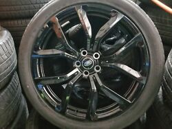 22 Range Rover Land Rover Svr Forged Original Wheels New Continentals Tires