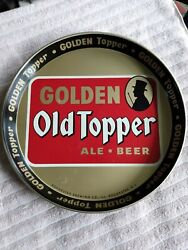 Vintage Golden Old Topper Beer Tray Standard Rochester Brewing Co. Rochester Ny