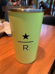 Starbucks Reserve Roastery And Tasting Room - Logo Tumbler - Yellow Metal Cup